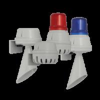 H100BL Сигнальный горн и светодиодный маяк E2S