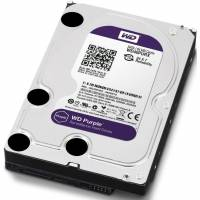 Жесткий диск (HDD), стандарт SATA-III, объем 4000 GB (4 TB) для видеонаблюдения HDD 4000 GB (4 TB) SATA-III Purple (WD40PURX)